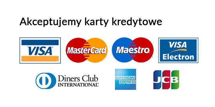 akceptujemy karty kredytowe